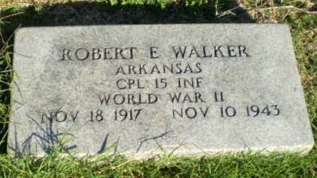 WALKER  (VETERAN WWII), ROBERT E - Greene County, Arkansas | ROBERT E WALKER  (VETERAN WWII) - Arkansas Gravestone Photos
