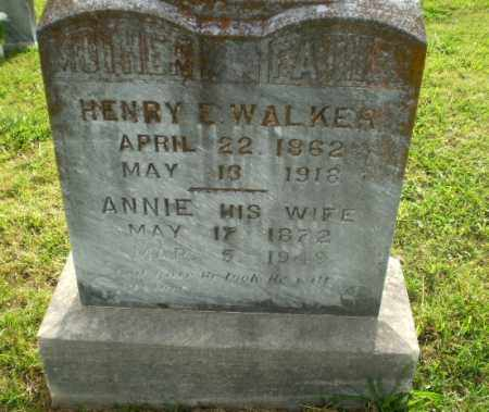 WALKER, ANNIE - Greene County, Arkansas | ANNIE WALKER - Arkansas Gravestone Photos