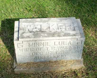 WALKER, MINNIE LULA - Greene County, Arkansas | MINNIE LULA WALKER - Arkansas Gravestone Photos