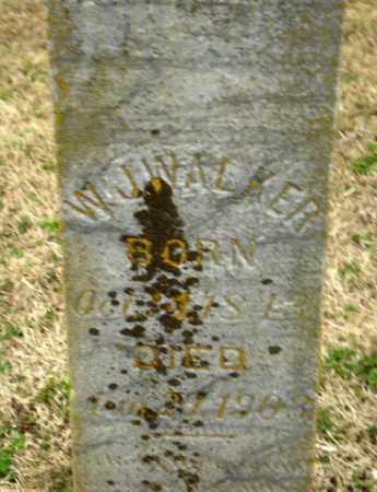 WALKER, W.J. - Greene County, Arkansas   W.J. WALKER - Arkansas Gravestone Photos