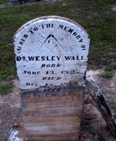 WALL, DR., WESLEY - Greene County, Arkansas | WESLEY WALL, DR. - Arkansas Gravestone Photos