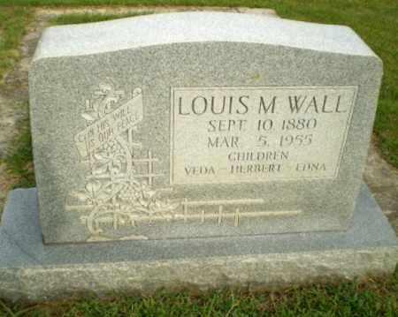 WALL, LOUIS M - Greene County, Arkansas | LOUIS M WALL - Arkansas Gravestone Photos