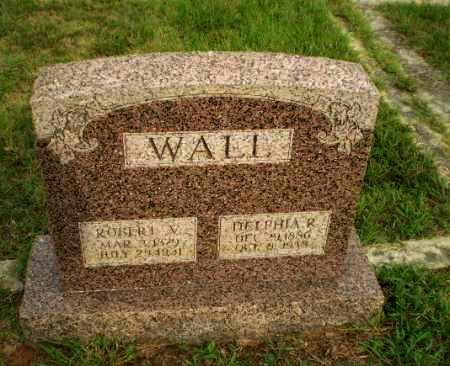 WALL, DELPHIA R - Greene County, Arkansas | DELPHIA R WALL - Arkansas Gravestone Photos