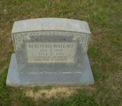 WALLACE, BERFFERD - Greene County, Arkansas | BERFFERD WALLACE - Arkansas Gravestone Photos