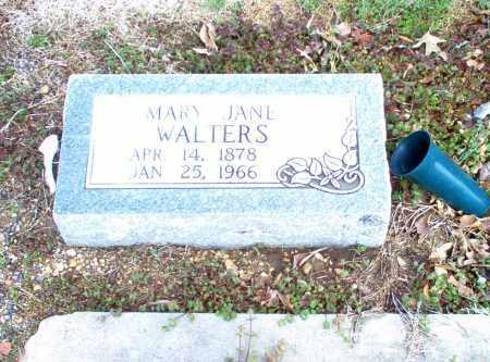 WALTERS, MARY JANE - Greene County, Arkansas | MARY JANE WALTERS - Arkansas Gravestone Photos