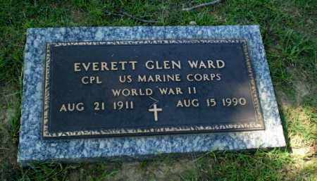 WARD  (VETERAN WWII), EVERETT GLEN - Greene County, Arkansas | EVERETT GLEN WARD  (VETERAN WWII) - Arkansas Gravestone Photos