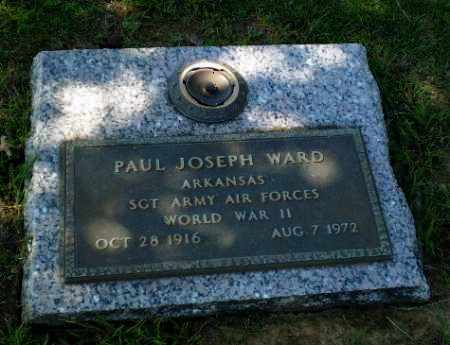 WARD  (VETERAN WWII), PAUL JOSEPH - Greene County, Arkansas | PAUL JOSEPH WARD  (VETERAN WWII) - Arkansas Gravestone Photos