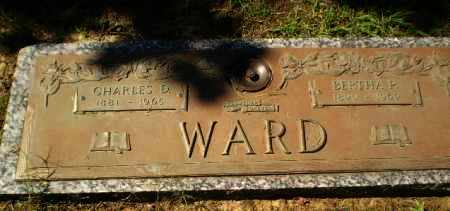 WARD, CHARLES D - Greene County, Arkansas | CHARLES D WARD - Arkansas Gravestone Photos