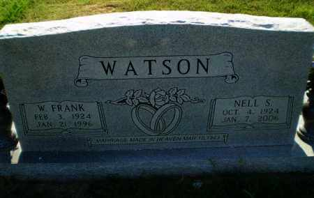 WATSON, W.FRANK - Greene County, Arkansas | W.FRANK WATSON - Arkansas Gravestone Photos