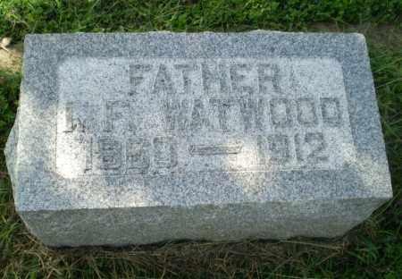 WATWOOD, I.F. - Greene County, Arkansas | I.F. WATWOOD - Arkansas Gravestone Photos
