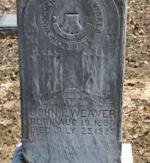 WEAVER, JOHN P. - Greene County, Arkansas | JOHN P. WEAVER - Arkansas Gravestone Photos