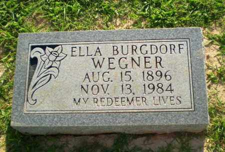 WEGNER, ELLA - Greene County, Arkansas | ELLA WEGNER - Arkansas Gravestone Photos
