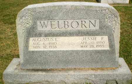 WELBORN, AUGUSTUS L - Greene County, Arkansas | AUGUSTUS L WELBORN - Arkansas Gravestone Photos