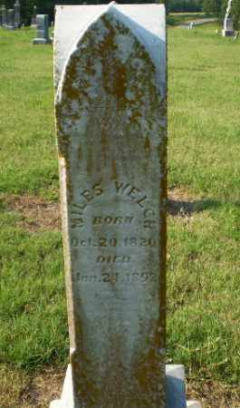 WELCH, MILES - Greene County, Arkansas | MILES WELCH - Arkansas Gravestone Photos
