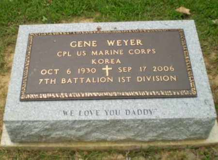 WEYER  (VETERAN  KOR), GENE - Greene County, Arkansas | GENE WEYER  (VETERAN  KOR) - Arkansas Gravestone Photos