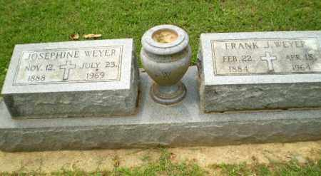 WEYER, FRANK J - Greene County, Arkansas | FRANK J WEYER - Arkansas Gravestone Photos