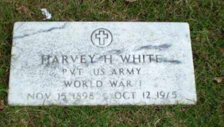 WHITE  (VETERAN WWI), HARVEY H - Greene County, Arkansas | HARVEY H WHITE  (VETERAN WWI) - Arkansas Gravestone Photos