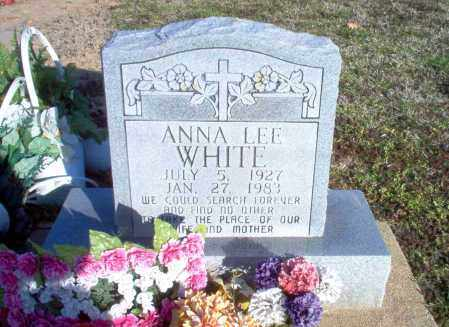 WHITE, ANNA LEE - Greene County, Arkansas | ANNA LEE WHITE - Arkansas Gravestone Photos