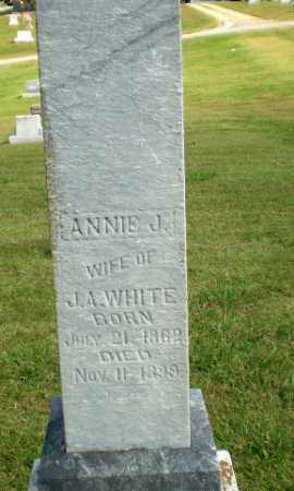 WHITE, ANNIE J - Greene County, Arkansas | ANNIE J WHITE - Arkansas Gravestone Photos