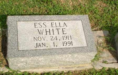 WHITE, ESS ELLA - Greene County, Arkansas | ESS ELLA WHITE - Arkansas Gravestone Photos