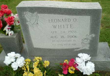 WHITE, LEONARD O - Greene County, Arkansas | LEONARD O WHITE - Arkansas Gravestone Photos