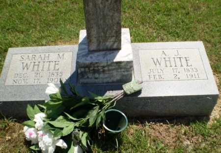 WHITE, SARAH M - Greene County, Arkansas | SARAH M WHITE - Arkansas Gravestone Photos
