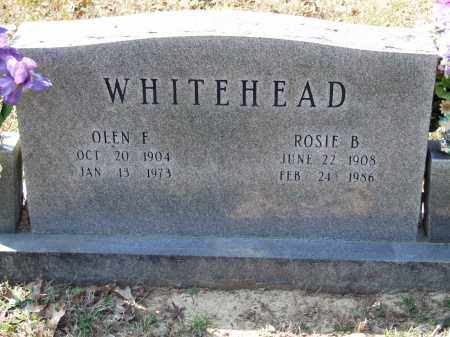 WHITEHEAD, ROSIE B. - Greene County, Arkansas | ROSIE B. WHITEHEAD - Arkansas Gravestone Photos