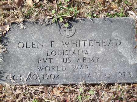 WHITEHEAD (VETERAN WWII), OLEN F. - Greene County, Arkansas | OLEN F. WHITEHEAD (VETERAN WWII) - Arkansas Gravestone Photos