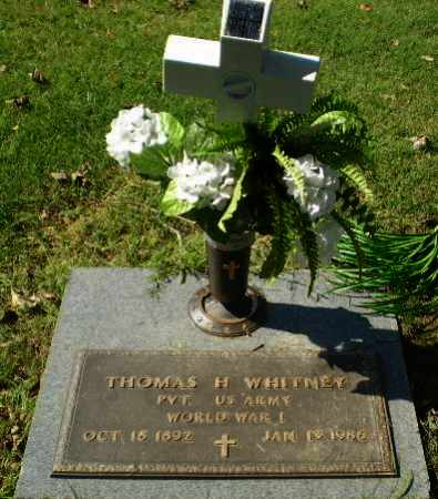 WHITNEY (VETERAN WWI), THOMAS H - Greene County, Arkansas | THOMAS H WHITNEY (VETERAN WWI) - Arkansas Gravestone Photos