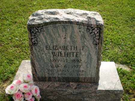 WILHITE, ELIZABETH F - Greene County, Arkansas | ELIZABETH F WILHITE - Arkansas Gravestone Photos