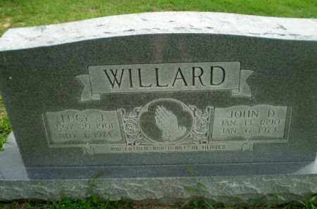 WILLARD, JOHN D - Greene County, Arkansas | JOHN D WILLARD - Arkansas Gravestone Photos