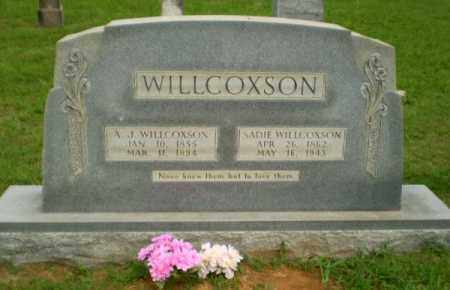 WILLCOXSON, SADIE - Greene County, Arkansas | SADIE WILLCOXSON - Arkansas Gravestone Photos
