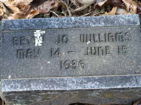 WILLIAMS, BETTY JO - Greene County, Arkansas | BETTY JO WILLIAMS - Arkansas Gravestone Photos