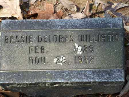 WILLIAMS, BESSIE DELORES - Greene County, Arkansas | BESSIE DELORES WILLIAMS - Arkansas Gravestone Photos