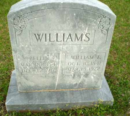 WILLIAMS, BELLE - Greene County, Arkansas | BELLE WILLIAMS - Arkansas Gravestone Photos