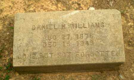 WILLIAMS, DANIEL H - Greene County, Arkansas | DANIEL H WILLIAMS - Arkansas Gravestone Photos