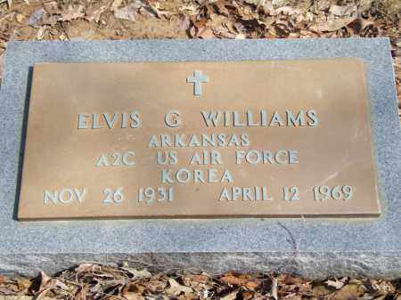 WILLIAMS, ELVIS G. - Greene County, Arkansas | ELVIS G. WILLIAMS - Arkansas Gravestone Photos