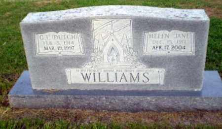 WILLIAMS, HELEN JANE - Greene County, Arkansas | HELEN JANE WILLIAMS - Arkansas Gravestone Photos