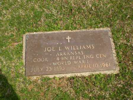 WILLIAMS  (VETERAN WWI), JOE L. - Greene County, Arkansas | JOE L. WILLIAMS  (VETERAN WWI) - Arkansas Gravestone Photos