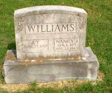 WILLIAMS, NANCY J - Greene County, Arkansas | NANCY J WILLIAMS - Arkansas Gravestone Photos