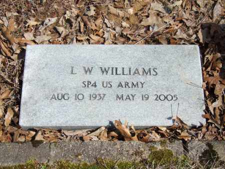 WILLIAMS, L. W. - Greene County, Arkansas | L. W. WILLIAMS - Arkansas Gravestone Photos