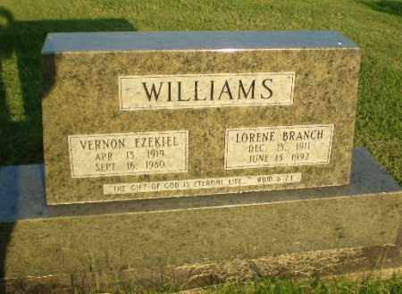 BRANCH WILLIAMS, LORENE - Greene County, Arkansas | LORENE BRANCH WILLIAMS - Arkansas Gravestone Photos