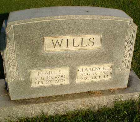 WILLS, CLARENCE D - Greene County, Arkansas | CLARENCE D WILLS - Arkansas Gravestone Photos