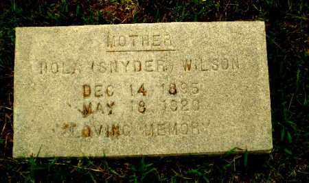 SNYDER WILSON, HOLA - Greene County, Arkansas | HOLA SNYDER WILSON - Arkansas Gravestone Photos