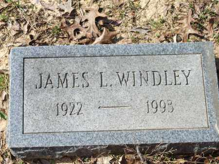 WINDLEY, JAMES L. - Greene County, Arkansas | JAMES L. WINDLEY - Arkansas Gravestone Photos