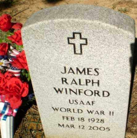 WINFORD  (VETERAN WWII), JAMES RALPH - Greene County, Arkansas | JAMES RALPH WINFORD  (VETERAN WWII) - Arkansas Gravestone Photos