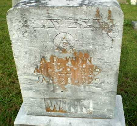 WINN, A.R. - Greene County, Arkansas | A.R. WINN - Arkansas Gravestone Photos