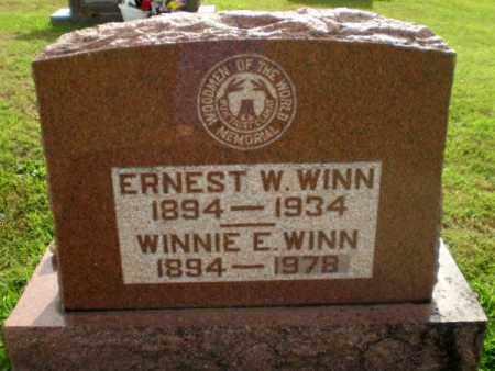WINN, ERNEST W - Greene County, Arkansas | ERNEST W WINN - Arkansas Gravestone Photos
