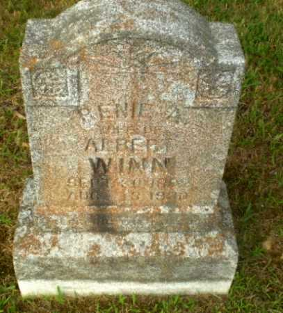 WINN, RENIE A - Greene County, Arkansas | RENIE A WINN - Arkansas Gravestone Photos