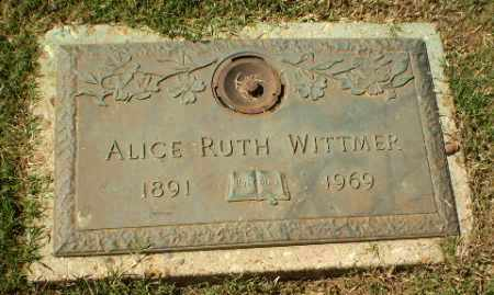 WITTMER, ALICE RUTH - Greene County, Arkansas | ALICE RUTH WITTMER - Arkansas Gravestone Photos